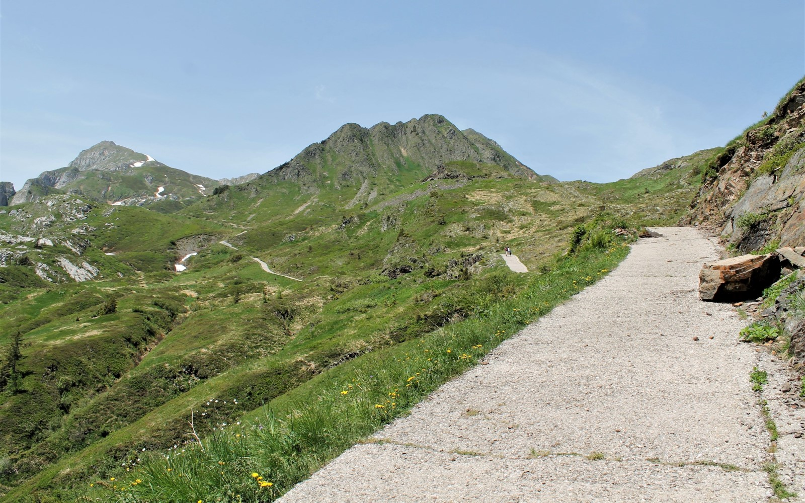 Hiking trail CAI 402 in the Carnic Alps